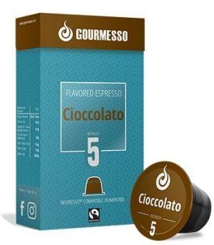 Soffio Cioccolato (čokoláda), Gourmesso– 10kapslí pro Nespresso