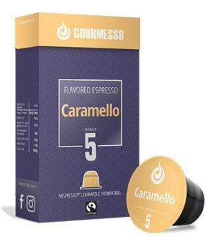 Soffio Caramello (karamel), Gourmesso– 10kapslí pro Nespresso kávovary