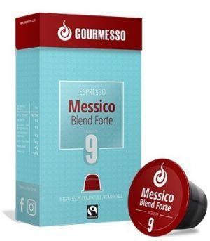 Messico Blend Forte Fairtrade, Gourmesso– 10kapslí pro Nespresso kávovary