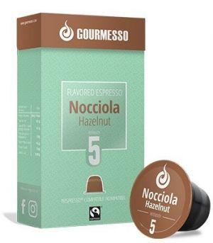 Soffio Nocciola (lískový oříšek), Gourmesso– 10kapslí pro Nespresso