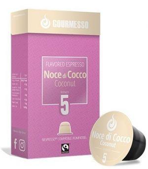 Soffio Noce di Cocco (kokos), Gourmesso– 10kapslí pro Nespresso