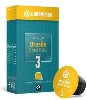 Brasile Blend Dolce, Gourmesso– 10kapslí pro Nespresso