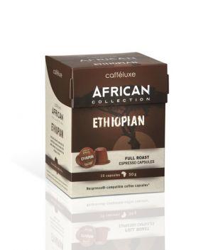 Ethiopian, Cafféluxe African– 10kapslí pro Nespresso