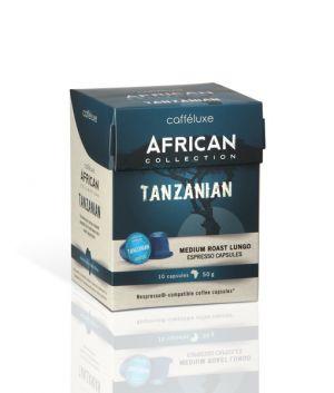 Tanzanian, Cafféluxe African– 10kapslí pro Nespresso