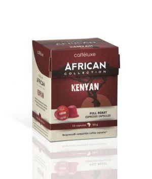 Kenyan, Cafféluxe African– 10kapslí pro Nespresso