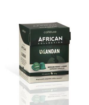 Ugandan, Cafféluxe African – 10 kapslí pro Nespresso
