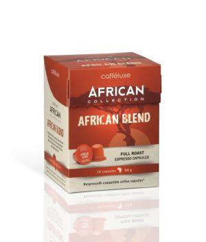 African Blend, Cafféluxe African– 10kapslí pro Nespresso