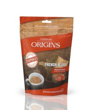 French Blend, Cafféluxe Origins– 25kapslí pro Nespresso