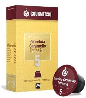 Soffio Gianduia Caramello, Gourmesso– 10kapslí pro Nespresso