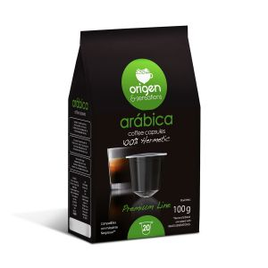 Arábica, Origen Coffee– 20kapslí pro Nespresso