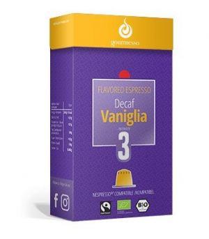 Decaf Vaniglia, Gourmesso– 10kapslí pro Nespresso kávovary