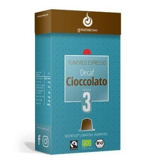 Decaf Cioccolato, Gourmesso– 10kapslí pro Nespresso kávovary