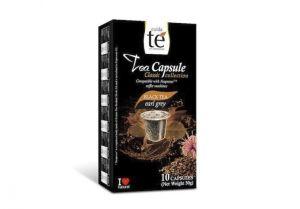 Čaj černý Earl Grey, Cuida Té – 10 kapslí pro Nespresso