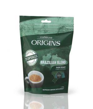 Brazilian Blend, Cafféluxe Origin– 25kapslí pro Nespresso