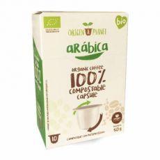 Organic Arábica, Origen Coffee– 10kapslí pro Nespresso