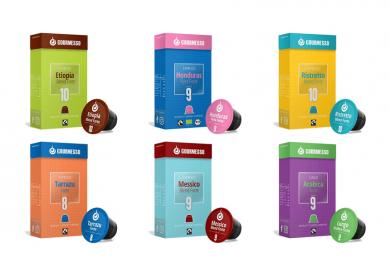 Upraženo - Malý testovací balíček, Gourmesso– 60kapslí pro Nespresso