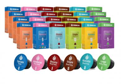 Upraženo - Gourmesso Jumbo Pack– 240kapslí pro Nespresso