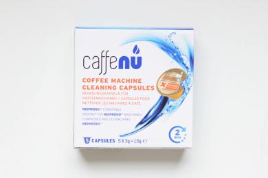 Upraženo - Cafféluxe Čisticí kapsle Caffenu– 5čisticích kapslí pro Nespresso přístroje