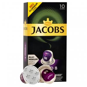 Lungo 8, Jacobs - 10 hliníkových kapslí pro Nespresso
