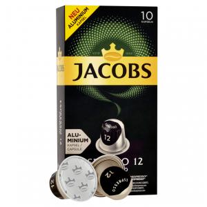 Ristretto 12, Jacobs - 10 hliníkových kapslí pro Nespresso