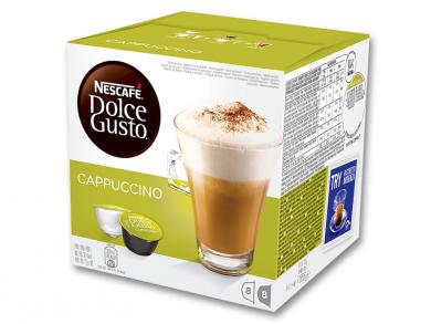 Upraženo - Nescafé Dolce Gusto Cappuccino 16 kapslí