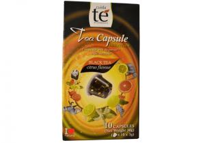 Čaj černý Citrus Flavour, Cuida Té - 10 kapslí pro Nespresso
