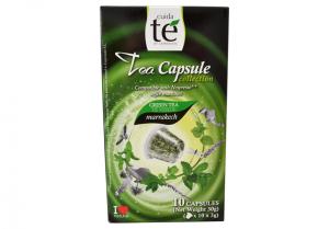 Čaj zelený Marrakech, Cuida Té - 10 kapslí pro Nespresso