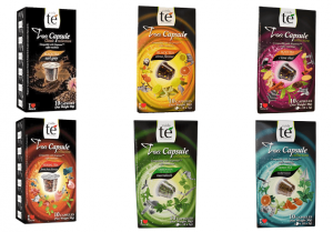 Balíček čajů Cuida Té - 60 kapslí pro Nespresso