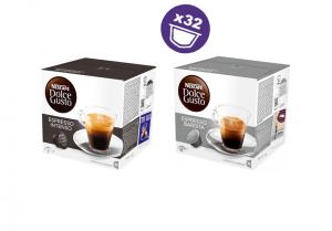 Nescafé balíček silné kávy - 32 kapslí pro Dolce Gusto