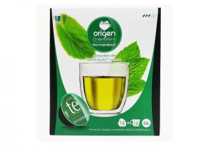 Zelený čaj Marrakech, Origen - 16 kapslí pro Dolce Gusto
