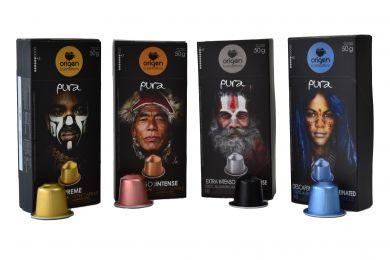 Upraženo - Prémiový balíček Origen Pura - 40 kapslí pro Nespresso