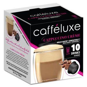 Cappuccino Créme, Cafféluxe - 10 kapslí pro Dolce Gusto