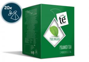 Zelený čaj Puro Magreb, Cuida Té - 20 sáčků