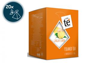 Zázvorový čaj s citronem, Cuida Té Pura - 20 sáčků -  EXPIRACE 07/2021