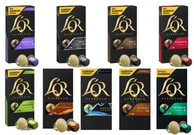 Upraženo - Balíček L'Or - 100 kapslí pro Nespresso