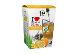 Ledový černý čaj Citron, Cuida Té - 12 sáčků