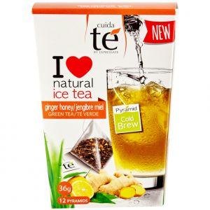 Ledový zelený čaj Ginger Honey, Cuida Té - 12 sáčků