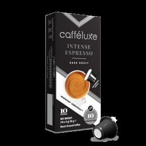 Intense Espresso, Cafféluxe Signature Range - 10 kapslí pro Nespresso