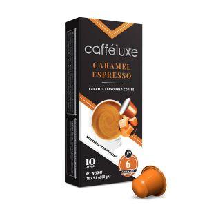 Caramel Coffee, Cafféluxe Signature Range - 10 kapslí pro Nespresso kávovary