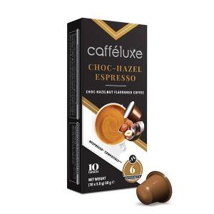 Choc-Hazelnut Espresso, Cafféluxe Signature Range– 10kapslí pro Nespresso kávovary