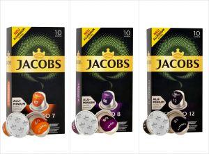 Balíček Jacobs - 30 kapslí pro Nespresso kávovary