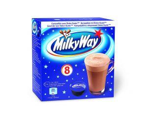 Milky Way- Horká čokoláda, Cafféluxe - 8 Kapslí pro Dolce Gusto