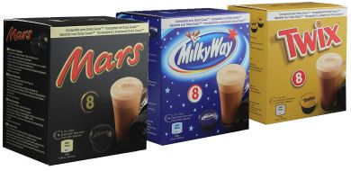 Upraženo - Variety 3 pack - Mars, Milky Way, Twix