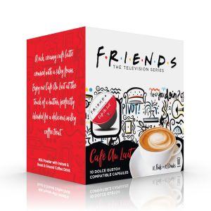 F.R.I.E.N.D.S Cafe Au Lait, Cafféluxe - 10 kapslí pro Dolce Gusto