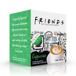 F.R.I.E.N.D.S Capuccino, Cafféluxe - 10 kapslí pro Dolce Gusto kávovary