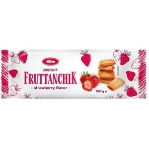 Sušenky Fruttanchik s jahodovou náplní 150 g