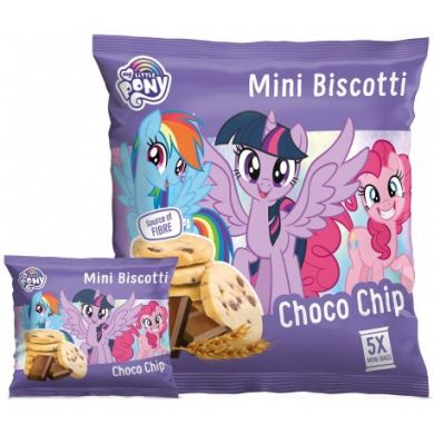 Upraženo - mini-biscotti-choco-chips-100g-my-little-pony