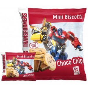 Sušenky Mini Biscotti Transformers s čokoládou 100 g