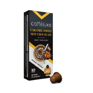 Horká čokoláda - Caramel Toffee Hot Chocolate - 10 kapslí pro Nespresso kávovary