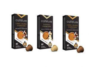 Cafféluxe balíček s příchutí - 30 kapslí pro Nespresso kávovary